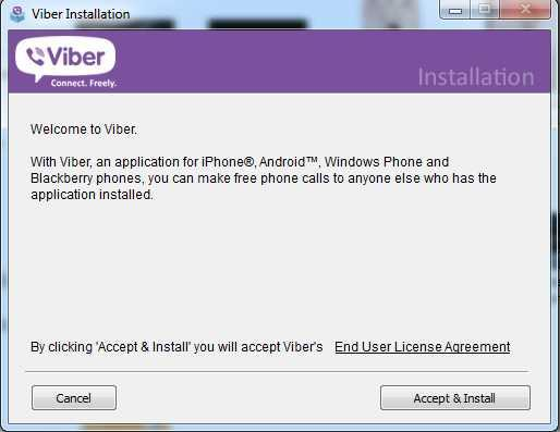 2 Viber for pc Windows 7