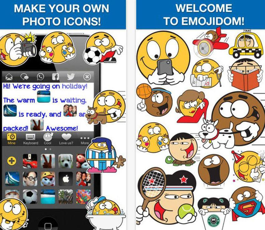 Add some fun to your text messages with Emojidom, which has more than 2,000 smiley faces and stickers. From character favorites like Spiderman to smiley faces eating McDonald's, you're bound to find one you like from its collection. The app also has a handful of emoji from various ethnic backgrounds. Emojidom Smileys is available for iOS and Android devices.