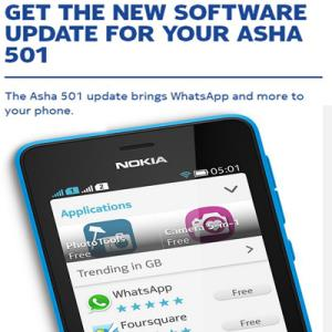 Download WhatsApp for Nokia Asha 501, 502, 503