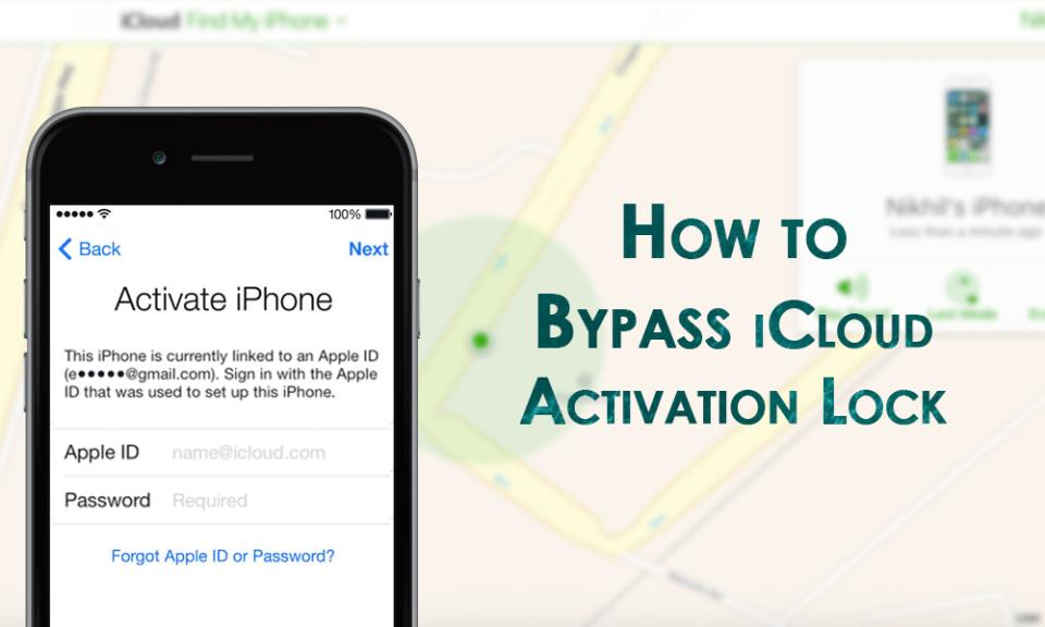 Bypassing activation lock iphone forgot