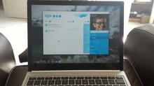 How to run Skype on a Chromebook
