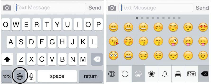 How to use emoji