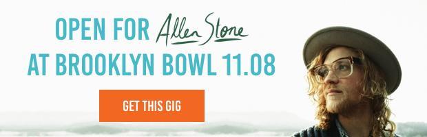 Open for Allen Stone