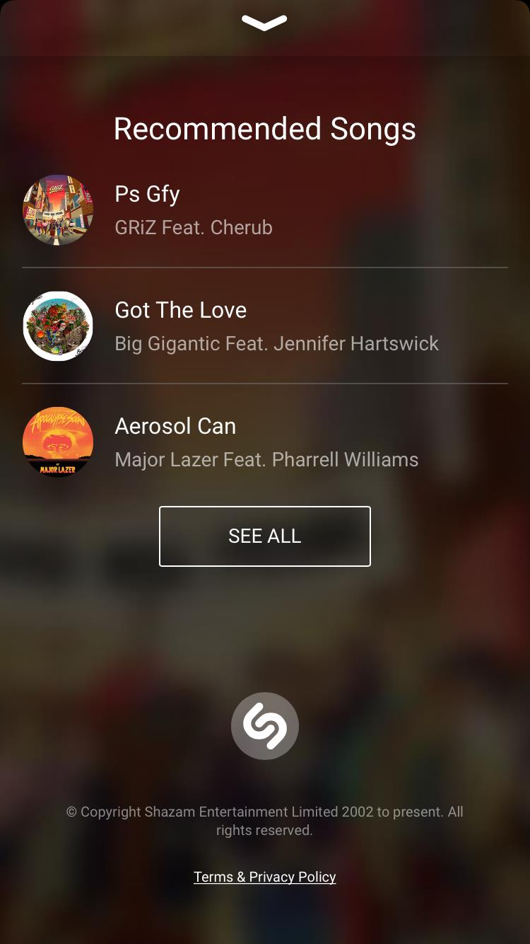 Listen to similar music.