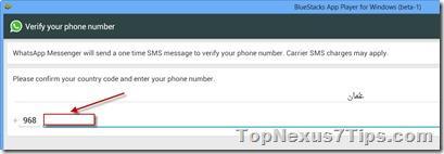 activate whatsapp on Windows 8.1