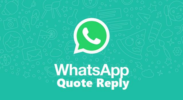whatsapp quote reply