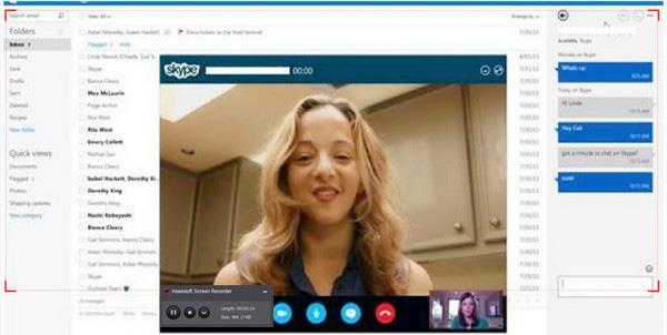 Record and Share Skype Screen