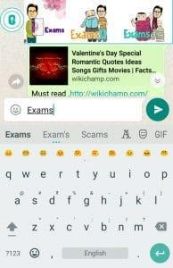 whatsapp typing tricks
