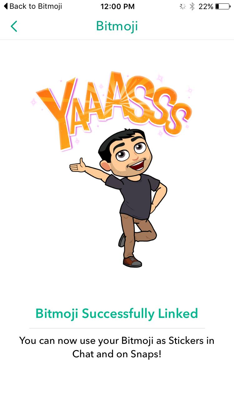 How to Link Your Bitmoji Account With Snapchat | Social Media Today