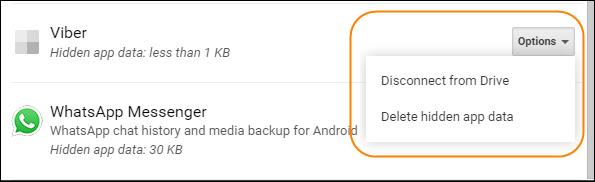 disconnect-delete-google-drive-backup