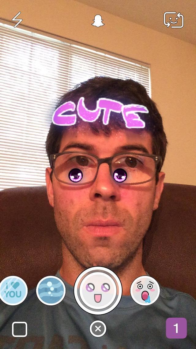 snapchat-cute-forehead-selfie-filter