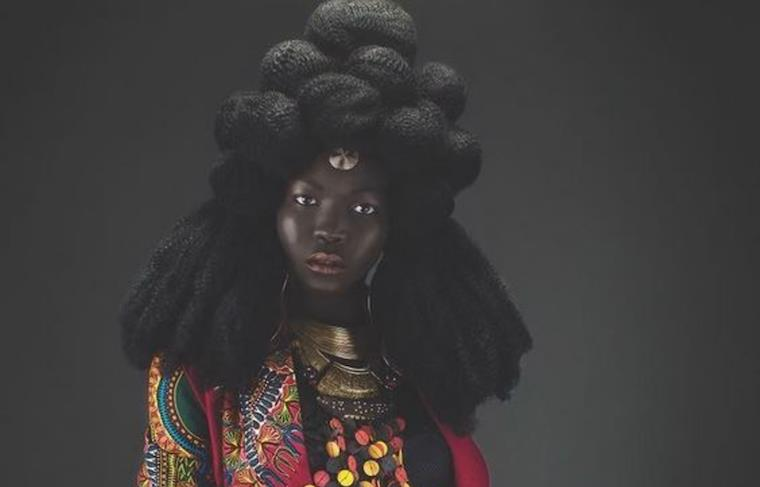 South Sudanese model Nyakim Gatwech proud of her dark skin