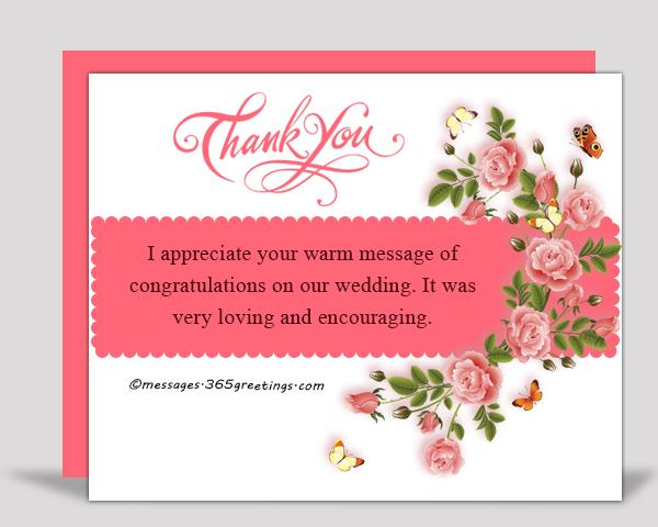 Thank you messages for the congratulations messhelper i appreciate your warm message of congratulations on our wedding it was very loving and encouraging m4hsunfo