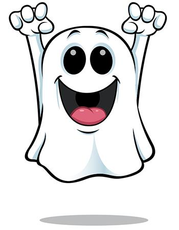 Happy Ghost | Smileys, Smiley and Emojis