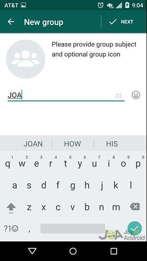 new group whatsapp blocked