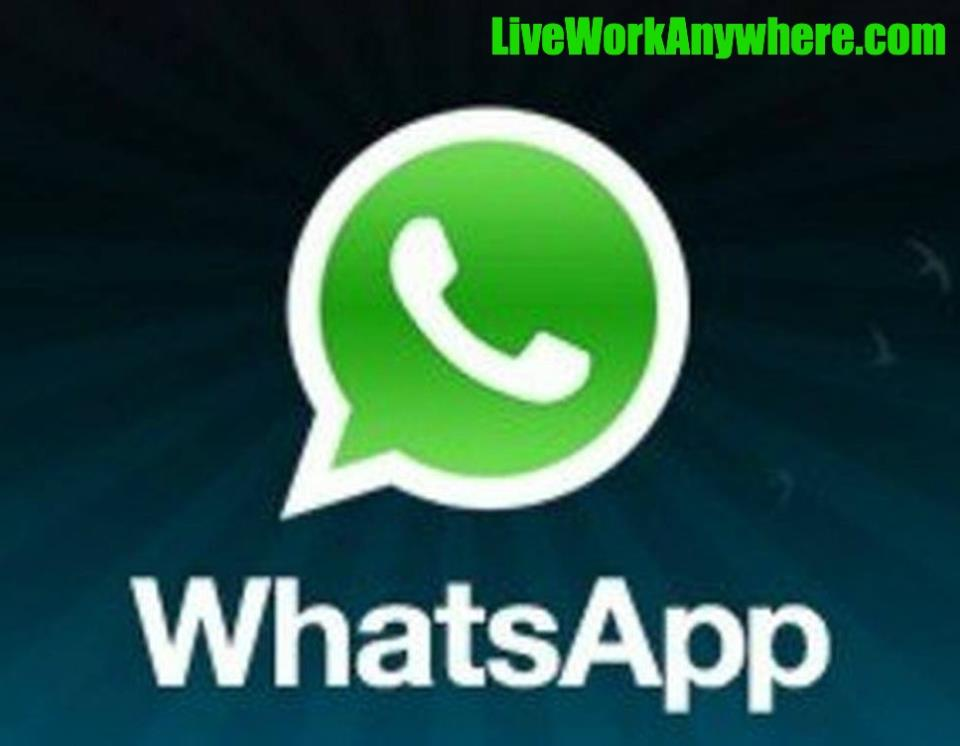 Whatsapp | Top 7 Communications Apps To Use While Traveling | LiveWorkAnywhere.com