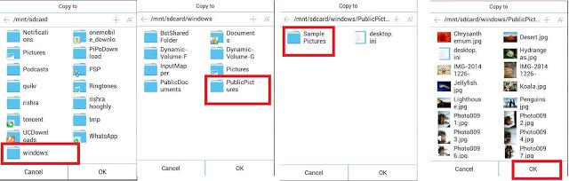 BlueStacks - Save/Copy,Delete Media Files Of WhatsApp