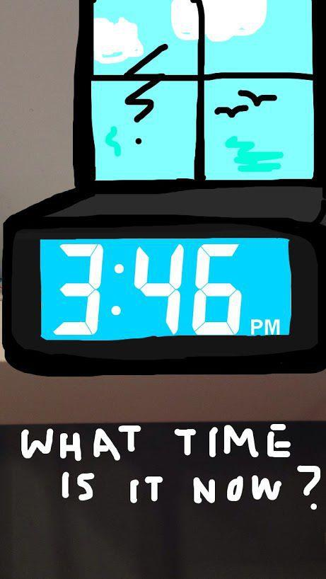 Time filter on Snapchat