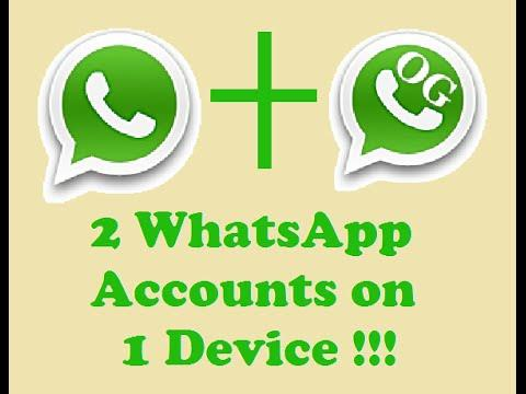 two whatsapp accouns in one 1 iphone android mobile phones