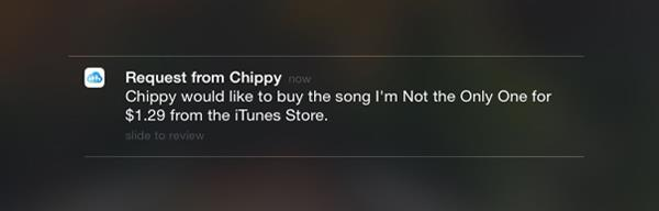 Parental notification in iOS8 for ask to buy