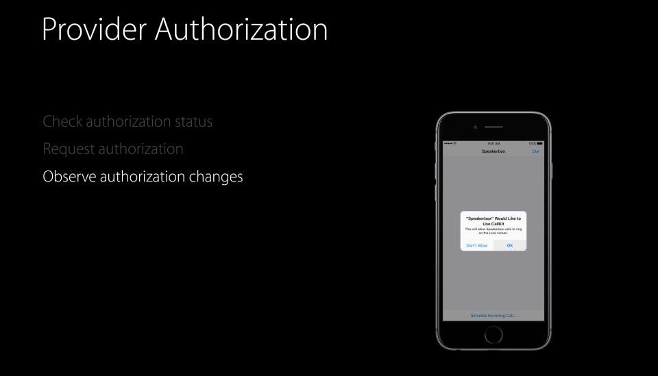 WWDC 2016 slides CallKit VoIP app permission 002