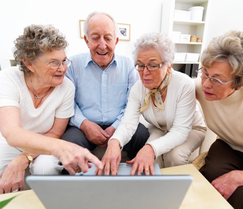 No need to crowd around the laptop to Skype