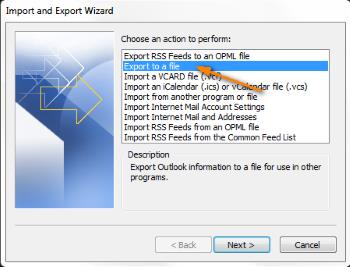 outlook2010-export-to-file