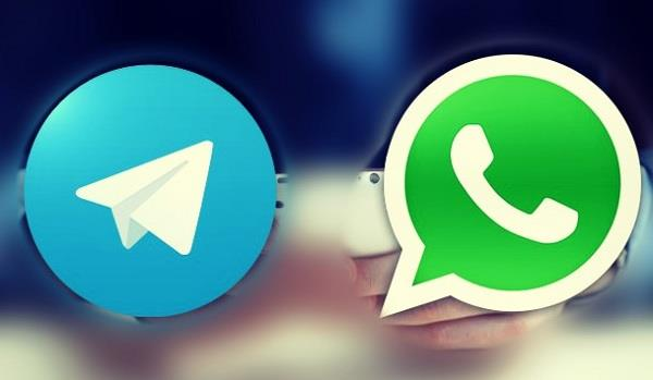 Whatsapp Vs Telegram messenger app