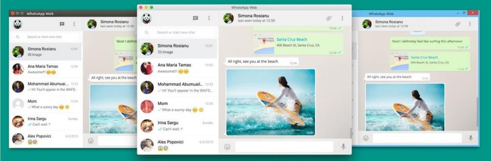 Whatsapp desktop client for Windows