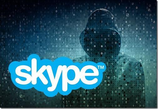 Skype is hacked - beware of Baidu links