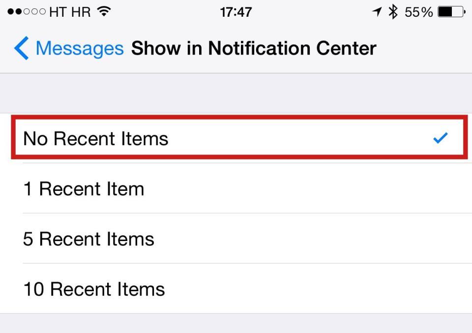 iOS Messages Arabic string bug iPhone screenshot 004