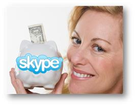 How to save money using Skype