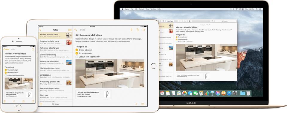 Notes iOS 9 El Capitan teaser 001