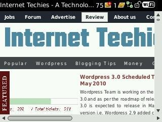 Internet Techies on BlackBerry