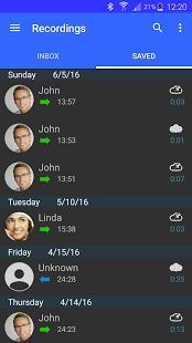 Automatic Call Recorder Screenshot