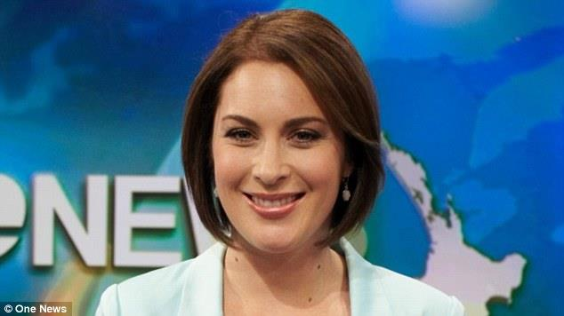 TVNZ female presenters like Melissa Stokes (pictured) have been asked to wear more 'utilitarian' styles 'not glamorous with patterns'