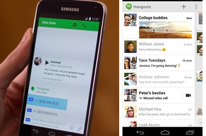 Hangouts 2.3 Android Google Voice