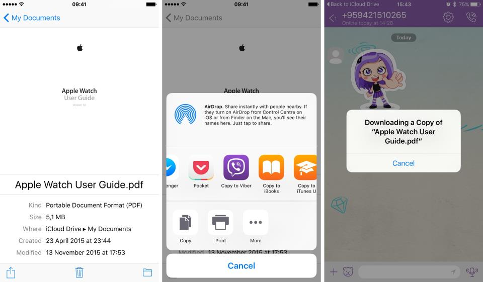 Viber 5.6.5 for iOS iPhone screenshot 002