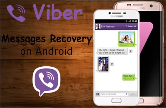 Viber messages recovery