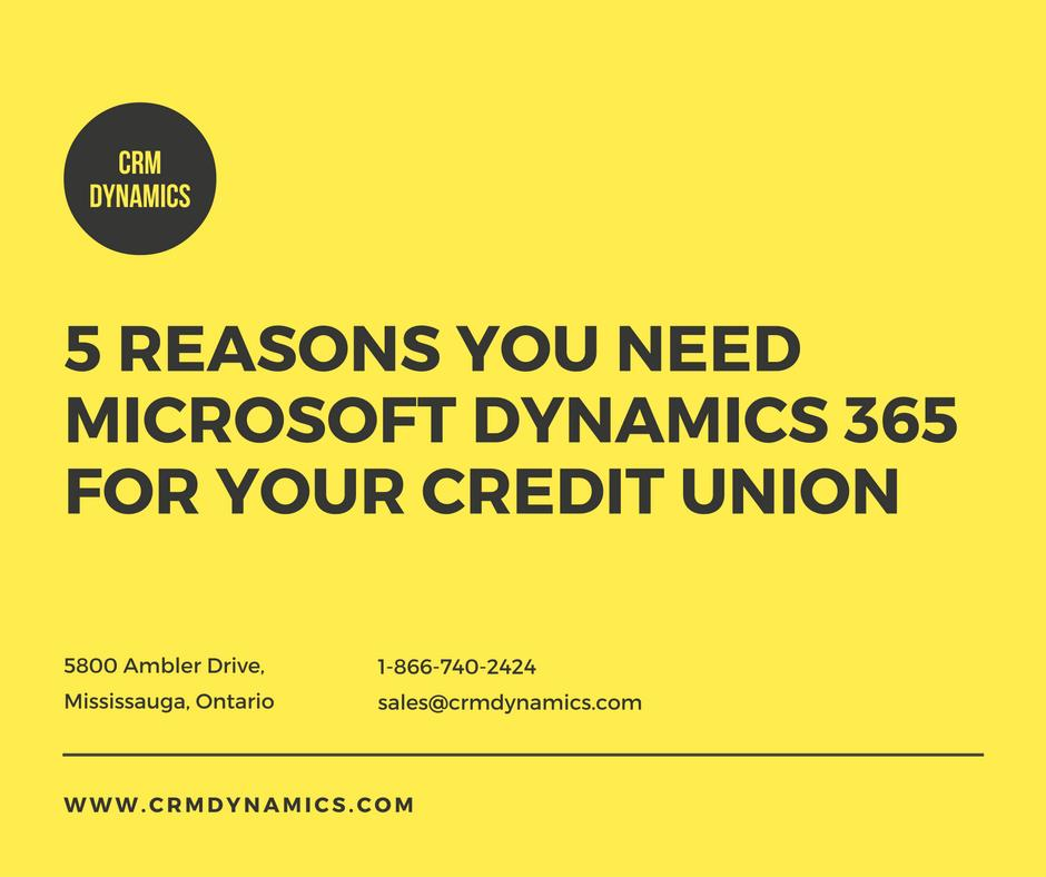 5 Reasons you need a CRM for your Credit Union