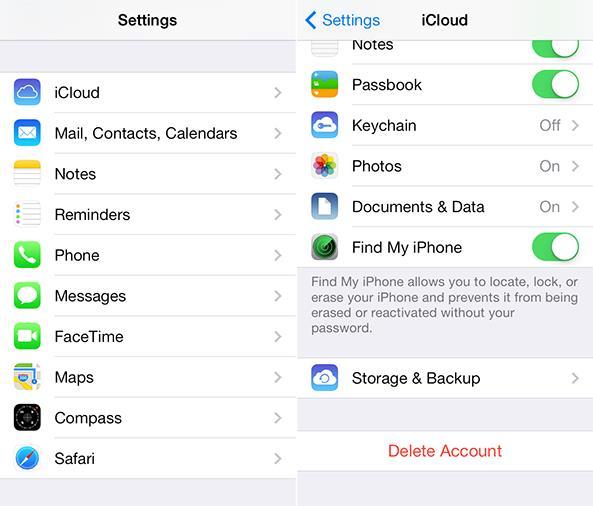 iCloud Backup 1