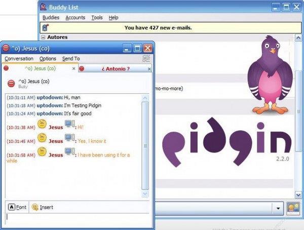 Pidgin Instant Messenger