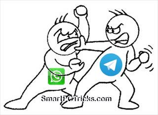 Telegram beat WhatsApp