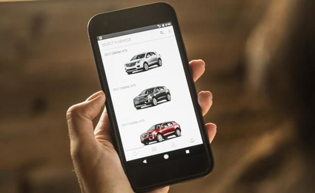 BOOK by Cadillac app