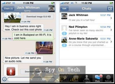 WhatsApp Messenger to Send and Receive Messages for Free