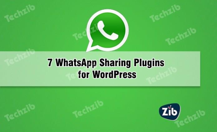 WhatsApp Sharing Plugins for WordPress