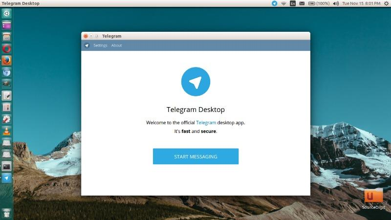 telegram-linux