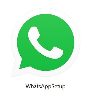 log out of WhatsApp desktop app in Windows 10