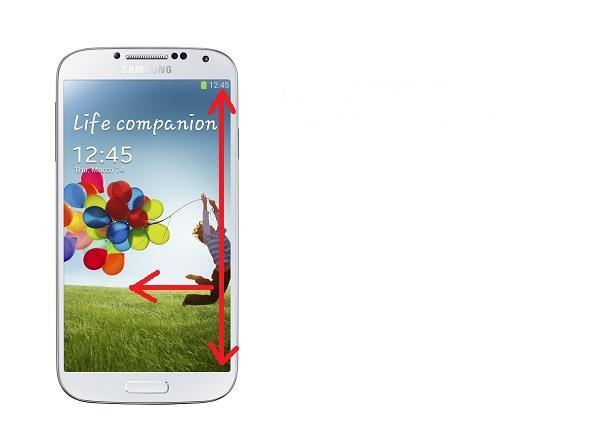 Galaxy s4 screenshot option two