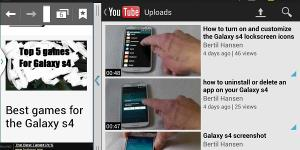 How to enable and use split screen on Galaxy s4